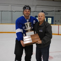 Ian and Rod with the Cup